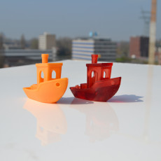 Picture of print of #3DBenchy - The jolly 3D printing torture-test Questa stampa è stata caricata da Bart Tangermann