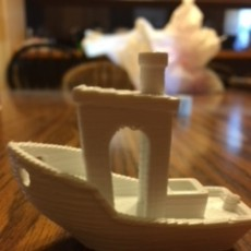 Picture of print of #3DBenchy - The jolly 3D printing torture-test Questa stampa è stata caricata da Michael Stamer