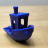 #3DBenchy - The jolly 3D printing torture-test print image