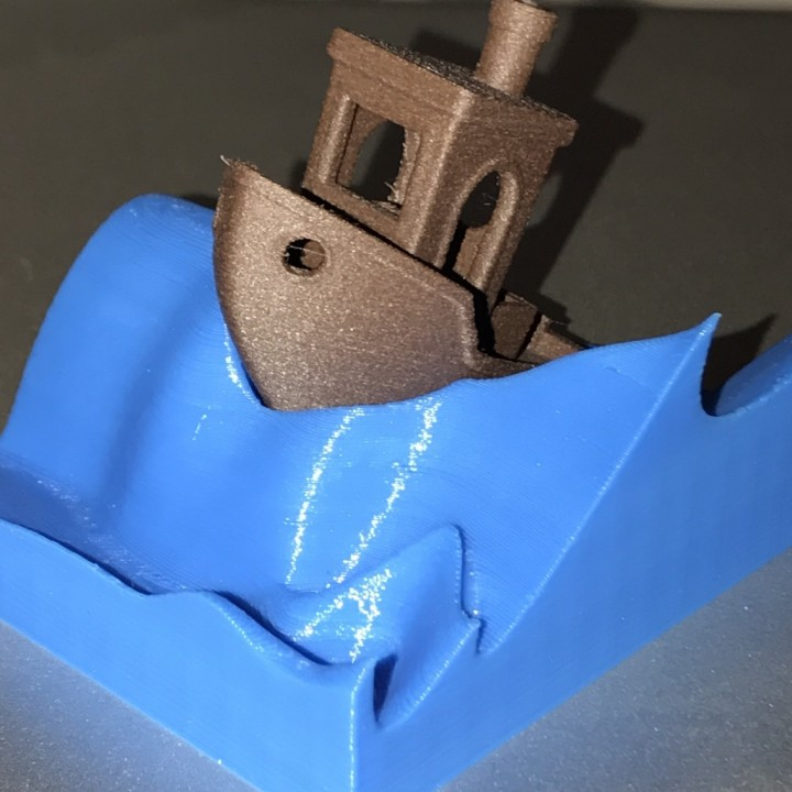 Picture of print of #3DBenchy - The jolly 3D printing torture-test This print has been uploaded by Luis