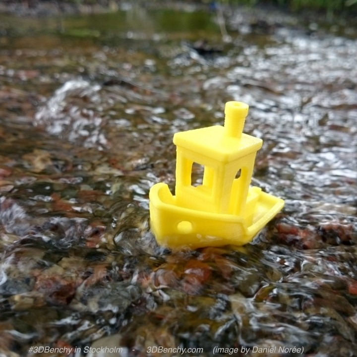Picture of print of #3DBenchy - The jolly 3D printing torture-test This print has been uploaded by CreativeTools.se