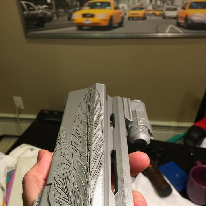 Picture of print of Destiny Hawkmoon Exotic Hand Cannon This print has been uploaded by Lael Lee