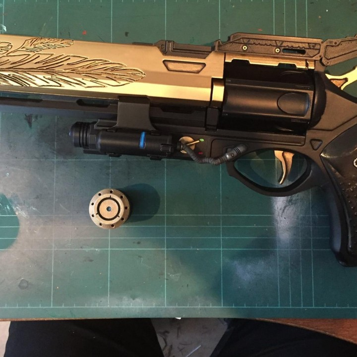 Picture of print of Destiny Hawkmoon Exotic Hand Cannon This print has been uploaded by Gerry Alden
