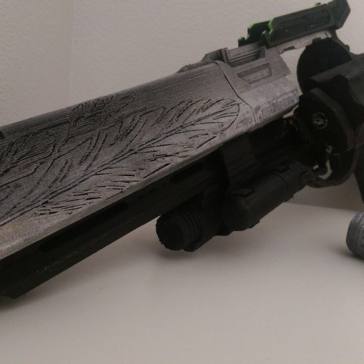 Picture of print of Destiny Hawkmoon Exotic Hand Cannon This print has been uploaded by Vector Customs