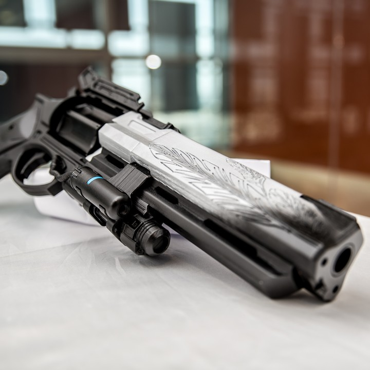 Picture of print of Destiny Hawkmoon Exotic Hand Cannon This print has been uploaded by Abdullah Masri