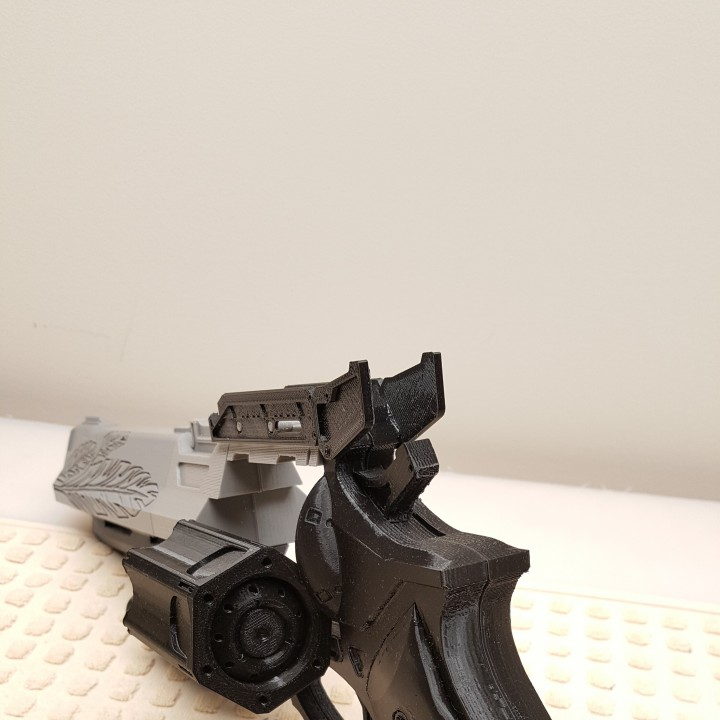 Picture of print of Destiny Hawkmoon Exotic Hand Cannon This print has been uploaded by Spectra3D Technologies