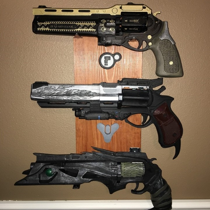 Picture of print of Destiny Hawkmoon Exotic Hand Cannon This print has been uploaded by JokerBingo