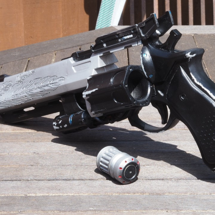 Picture of print of Destiny Hawkmoon Exotic Hand Cannon This print has been uploaded by Andy Robertson