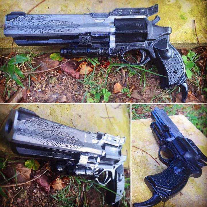 Picture of print of Destiny Hawkmoon Exotic Hand Cannon This print has been uploaded by Ging Joffe