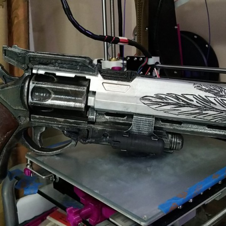 Picture of print of Destiny Hawkmoon Exotic Hand Cannon This print has been uploaded by Michael