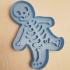 Gingerdead man cookie cutter image