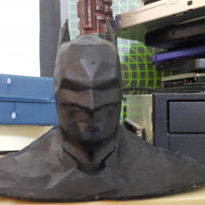 Picture of print of Batman low poly bust