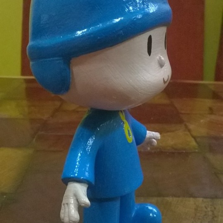 Picture of print of Pocoyo This print has been uploaded by jose antonio dominguez