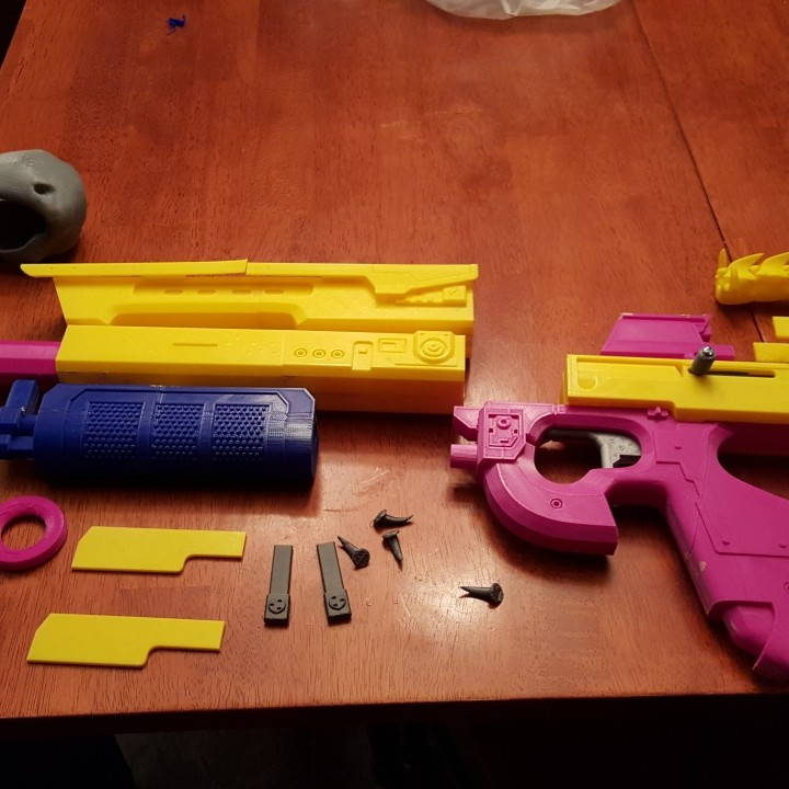 Picture of print of Destiny's Bad Juju exotic pulse rifle This print has been uploaded by Greg Thomas