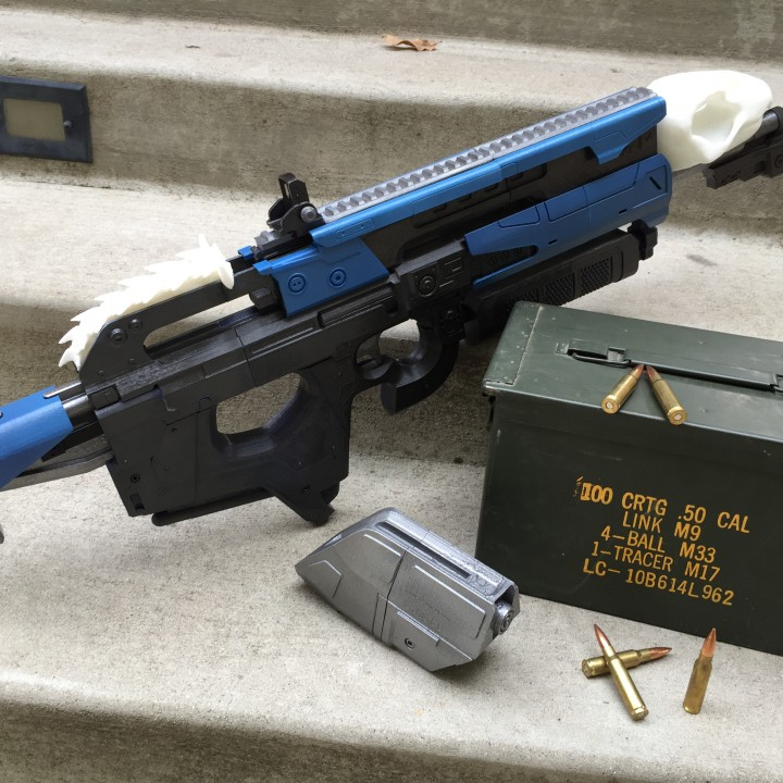 Picture of print of Destiny's Bad Juju exotic pulse rifle This print has been uploaded by Gary Craig