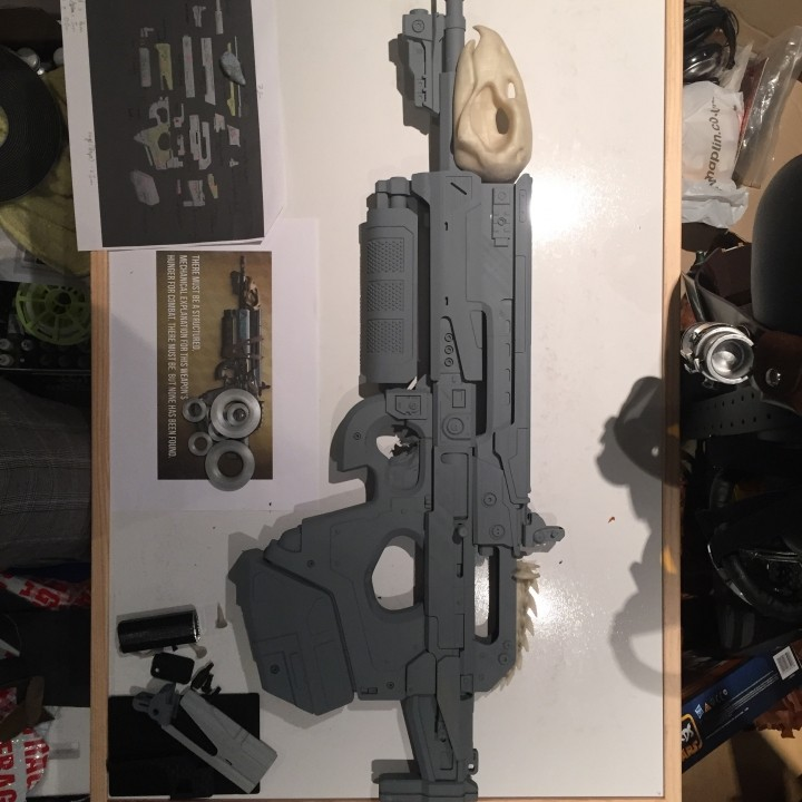 Picture of print of Destiny's Bad Juju exotic pulse rifle This print has been uploaded by Gerry Alden