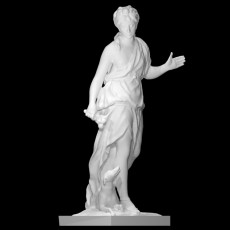 Companion of Diana at the Louvre, Paris, France