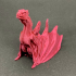 """Drogon From """"Game of Thrones"""" print image"""