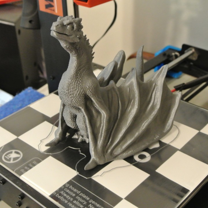 "Picture of print of Drogon From ""Game of Thrones"" This print has been uploaded by Bill McDaniel"