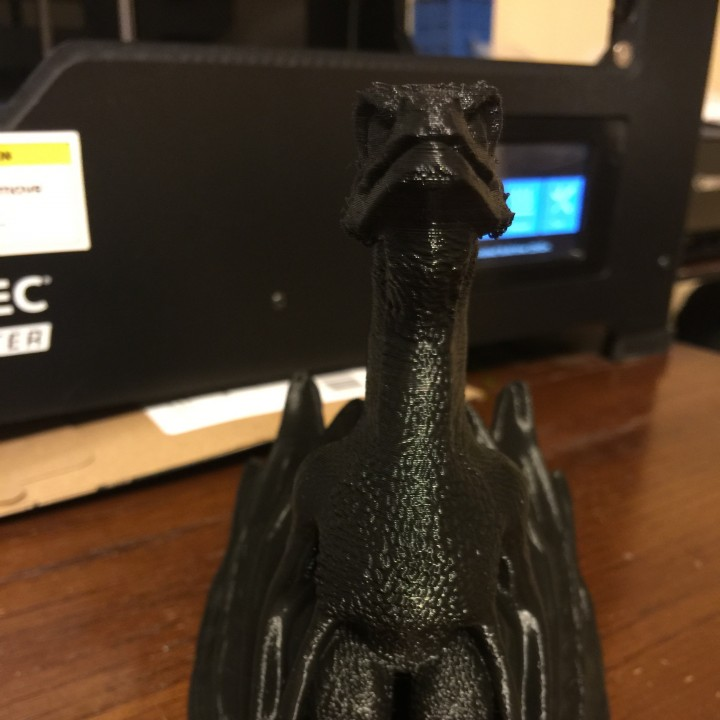 "Picture of print of Drogon From ""Game of Thrones"" This print has been uploaded by 3D Extruded"