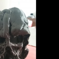 Picture of print of Melted Darth Vader mask from Star Wars Episode 7 Cet objet imprimé a été téléchargé par Tim M