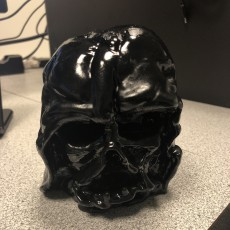 Picture of print of Melted Darth Vader mask from Star Wars Episode 7 Cet objet imprimé a été téléchargé par Nick