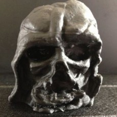 Picture of print of Melted Darth Vader mask from Star Wars Episode 7 Cet objet imprimé a été téléchargé par arthur ng