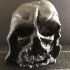 Melted Darth Vader mask from Star Wars Episode 7 print image