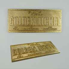 The Golden Ticket - Charlie and the Chocolate Factory