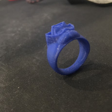 Picture of print of DARTH VADER RING -the Next Ring Episode Size 9- This print has been uploaded by Murat Toğay