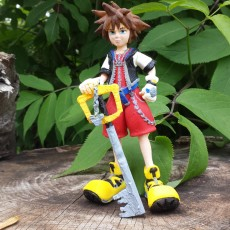 Picture of print of Kingdom Hearts Sora