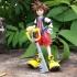 Kingdom Hearts Sora print image