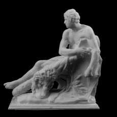 Hercule Gaulois at The Louvre, Paris