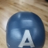 Captain America - Wearable Helmet print image