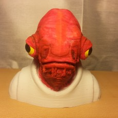 Picture of print of Admiral Ackbar