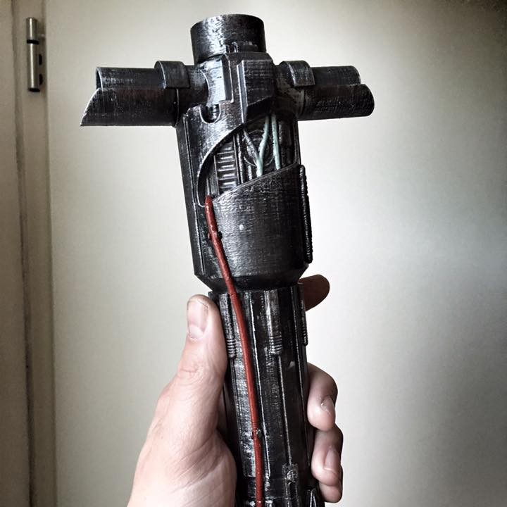 Picture of print of KYLO REN'S LIGHTSABER - STAR WARS This print has been uploaded by Jeroen Tissen