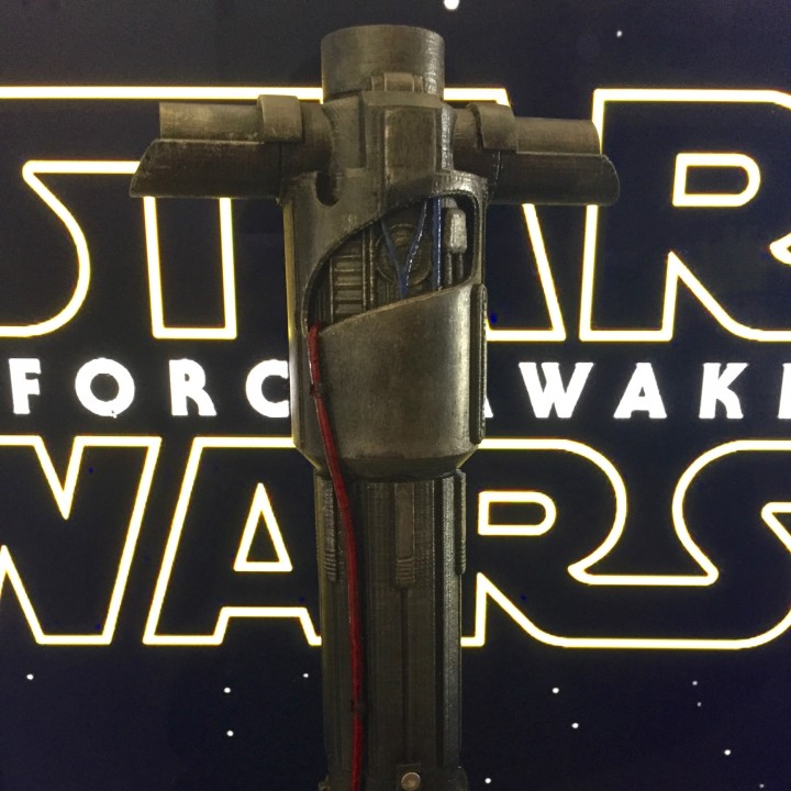 Picture of print of KYLO REN'S LIGHTSABER - STAR WARS This print has been uploaded by Carlos Slater