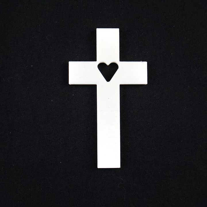 small heart crosses