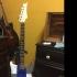 HR Giger Guitar print image