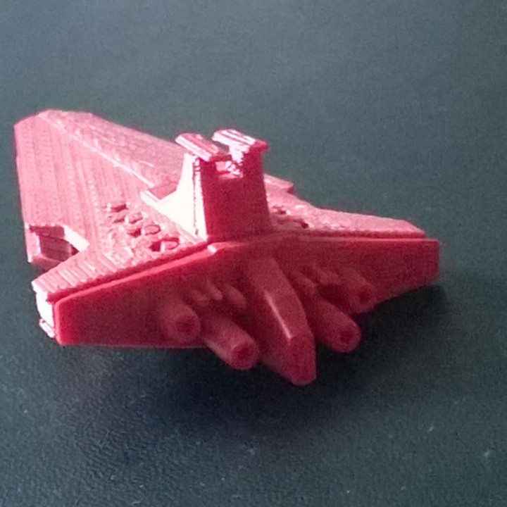 3D Printable Venator Class Star Destroyer by Joey T