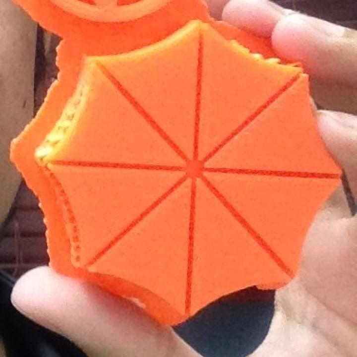 UMBRELLA Corp. (Resident evil) Belt Buckle accessory