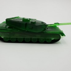 Picture of print of M1 Abrams - Mechanical Model Kit