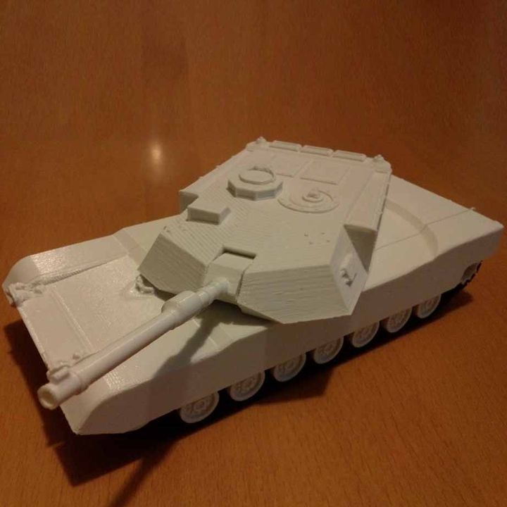 M1 Abrams - Mechanical Model Kit