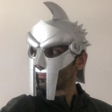Picture of print of Wearable Gladiator Mask
