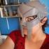 Wearable Gladiator Mask print image