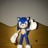 Sonic The Hedgehog print image