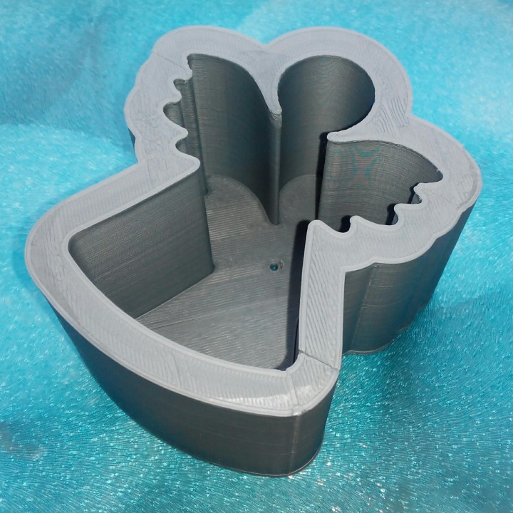 Mold for angel candle