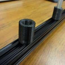 OpenBeam Optical Rail Simple Rod Holder