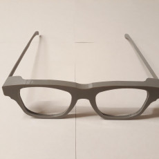 Picture of print of Glasses Frames with bendable arms