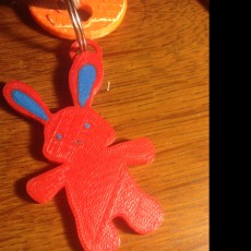 Picture of print of Bunny keychain